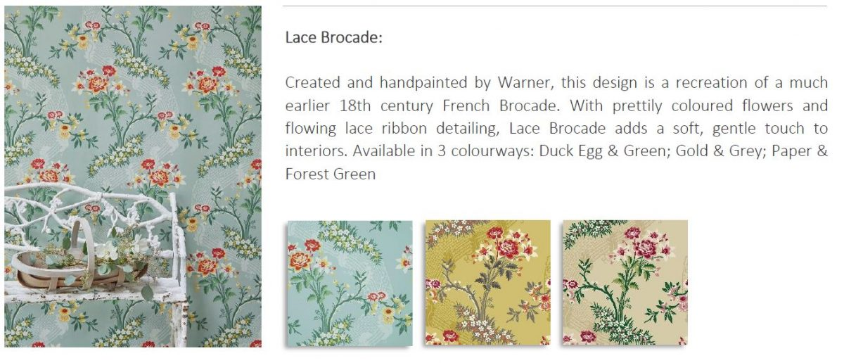 Lace Brocade Gainsborough